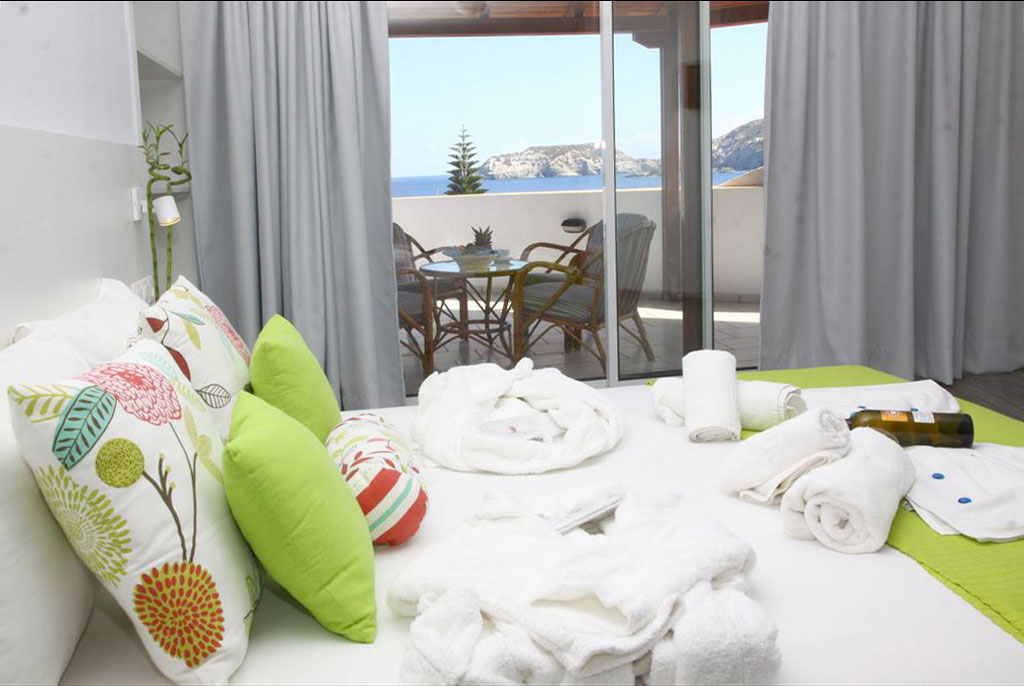 Luxury Double Room with Sea View